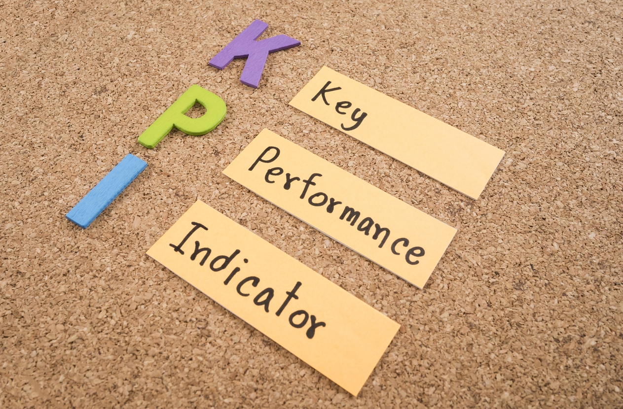 What are some good KPIs for a nonprofit fundraising project?