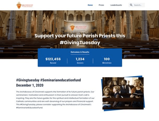 support your parish this Giving Tuesday