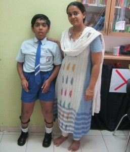 This is Sanket Gala. Sanket has Muscular Dystrophy, which is a disease of the muscles. It is degenerative disease, which means that with time, Sanket will grow progressively weaker. His physical condition is distinctly apparent. But what isn't apparent at first glance is his indomitable spirit.