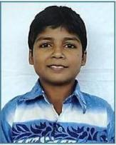Chetan, boy supported by SAMPARC