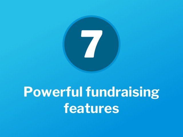 The GivenGain fundraising toolbox