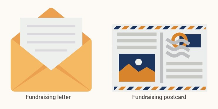 Here are two types of direct mail marketing for nonprofit organizations.