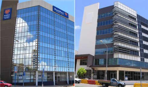 BankWest Townsville Before After