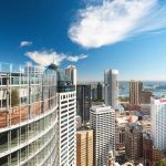 The 1 Blight Street Atrium has stunning views over the Sydney skyline.