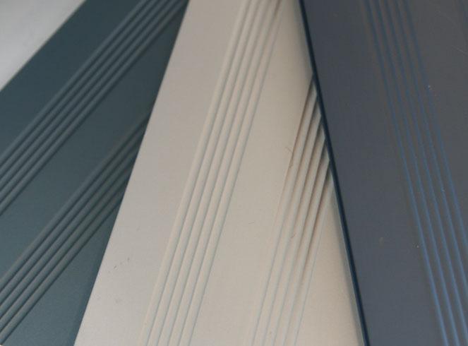 Aluminium Colour Range