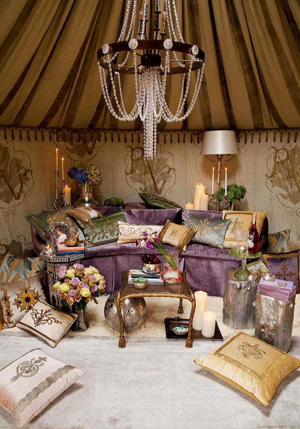 Neiman Marcus Glamping Yurt