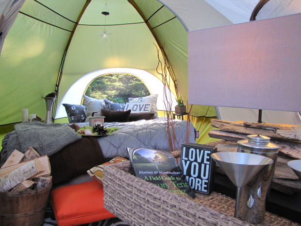 Glamping Trend Becomes Fundraiser to Help Inner City Kids