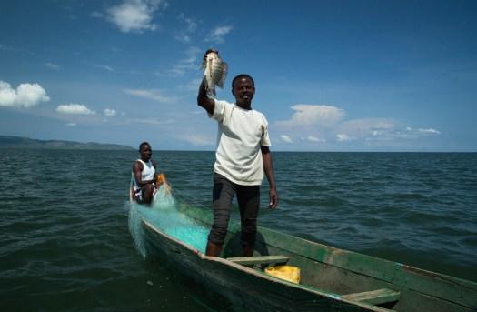 Glamping Review of Rusinga Island Lodge in Kenya by Megan Snedden - fishing
