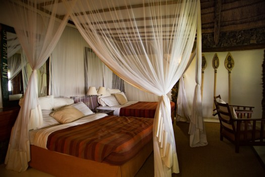 Glamping Review of Rusinga Island Lodge in Kenya by Megan Snedden - cottage bedroom