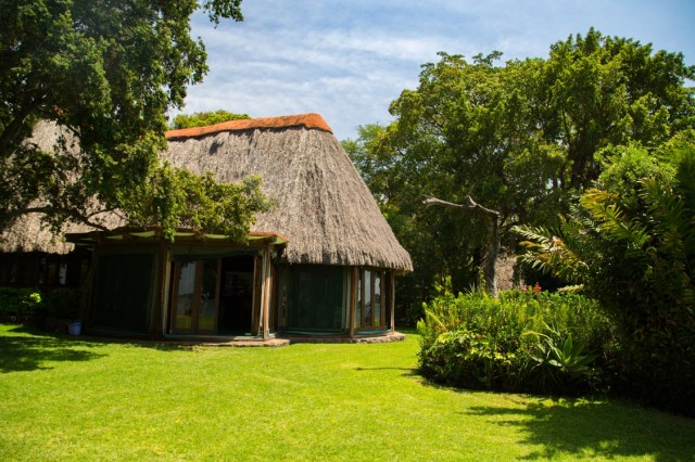 Glamping Review of Rusinga Island Lodge in Kenya by Megan Snedden - lodge exteiror