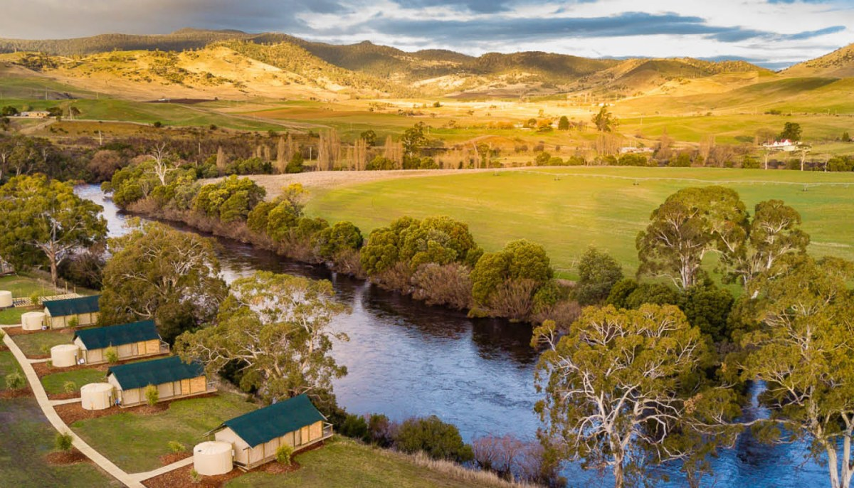 Enjoy Glamping in Australia at Truffle Lodge