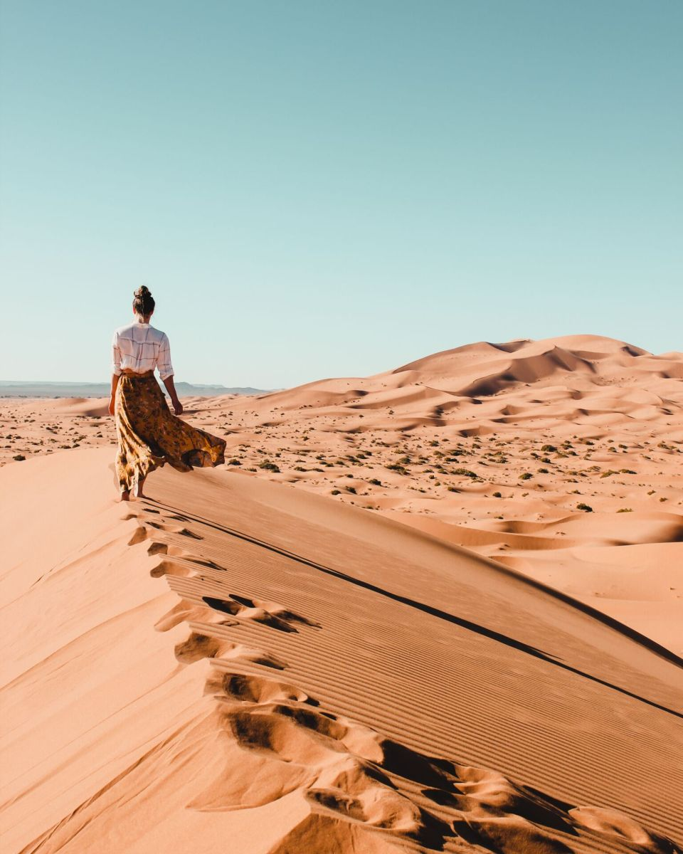 Glamping Under the Stars of the Sahara Desert at Morocco's Kam Kam Dunes
