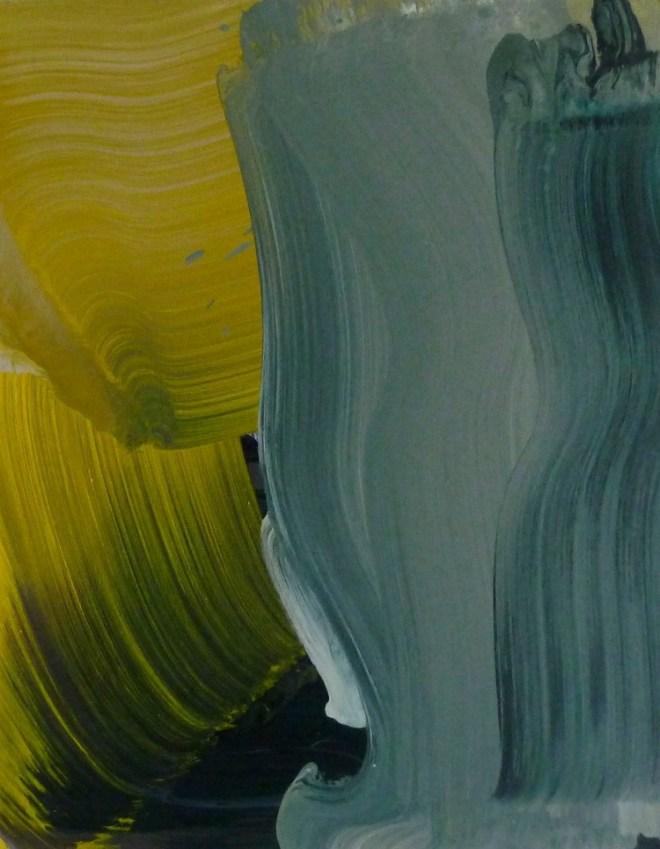 Erin Lawlor, Opening Scene, 2015, Öl auf Leinwand, 51 x 40,5 cm