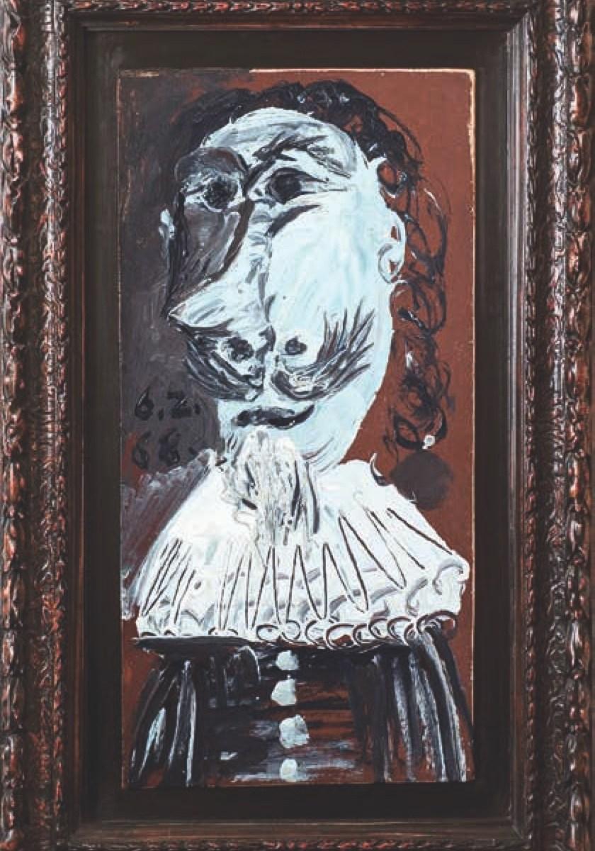 Picasso, Buste de mousquetaire