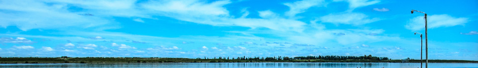 Photo: Laguna la Salada, Argentina.