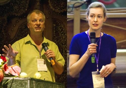 Paul Hanson and Cayelan Carey from GLEON gave talks during the PRAGMA meeting,