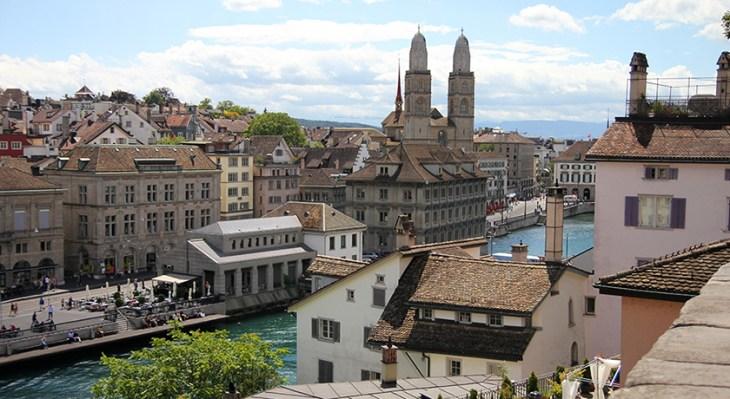 Ruta por el casco antiguo de Zúrich, Suiza