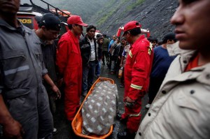 Accident victims in remote areas often have to wait hours for firemen to arrive from the city
