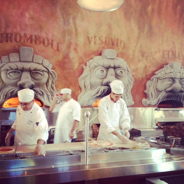 Pizza ovens - Mount Etna, Mount Vesuvius and Stromboli.