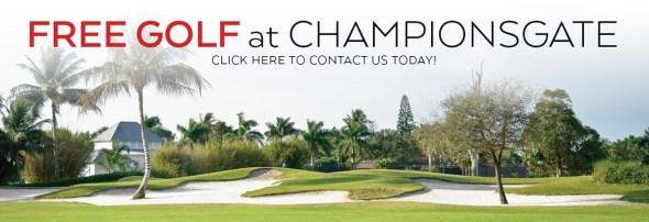 Free Golf at Champions Gate