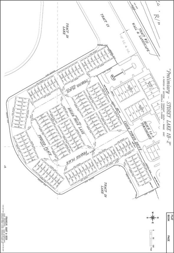 Storey Lake Site Plan