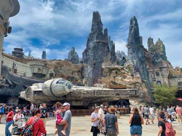 Star Wars Galaxys Edge Millennium Falcon