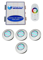 Kit Led Para Piscinas - 4 Light Tech