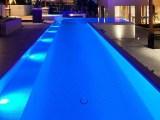led para piscina de alvenaria