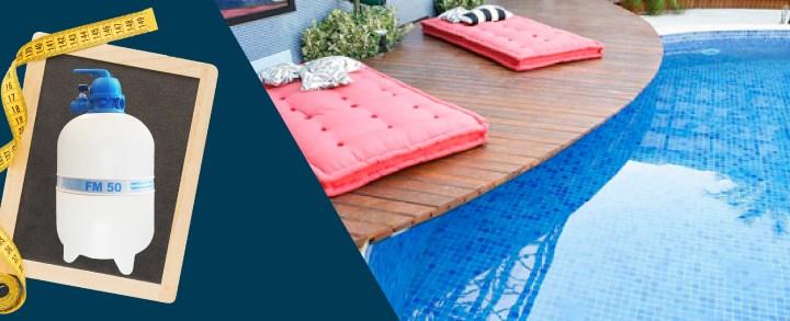 Encontrando o filtro ideal: como calcular o tamanho do filtro para piscina