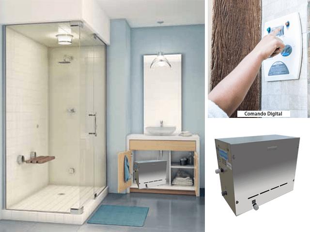 sauna eletrica para banheiro