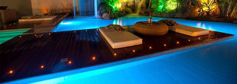 Refletor para piscina, qual o ideal?