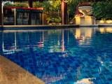 Origem da piscina residencial