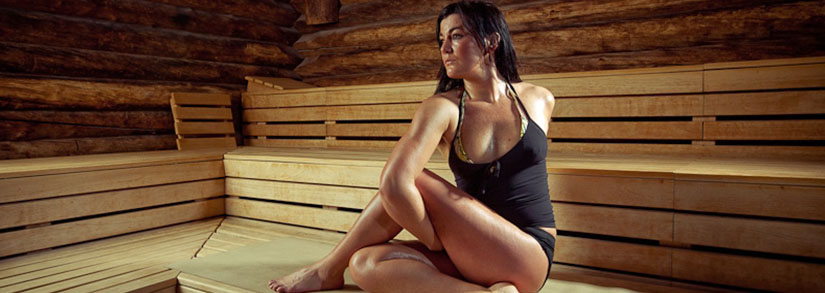 Benefícios de fazer Hot Yoga em uma sauna seca