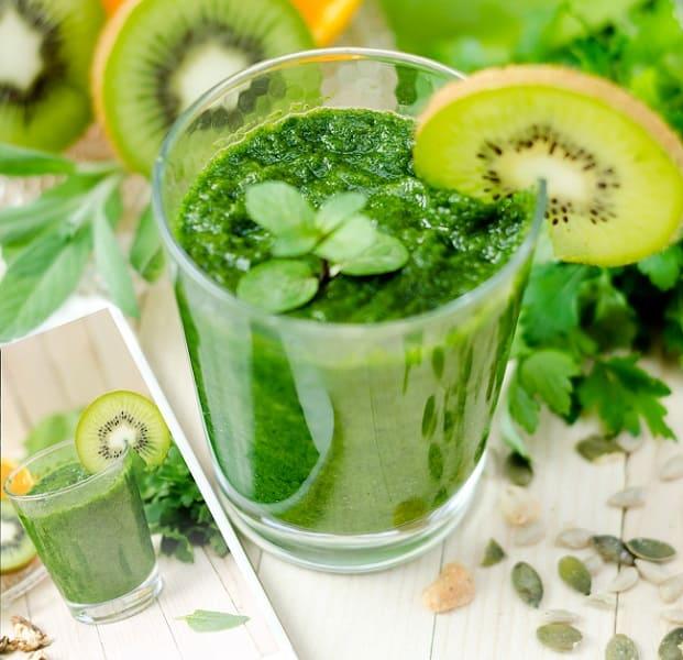 receta zumo verde