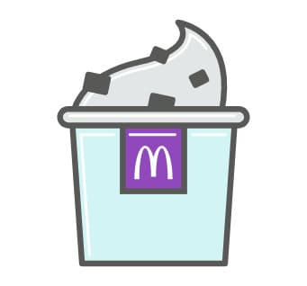 Barcelona contra Real Madrid McFlurry