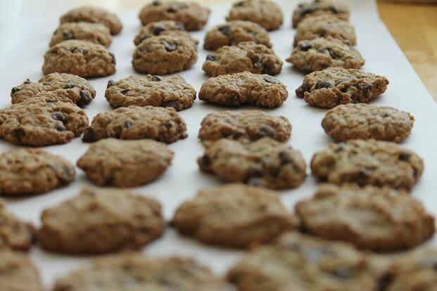 cómo hacer galletas caseras de avena