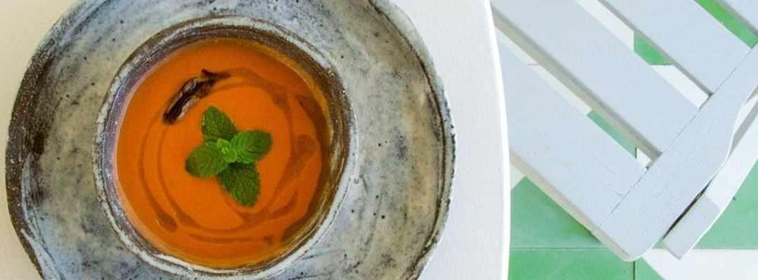 La receta del gazpacho con Thermomix