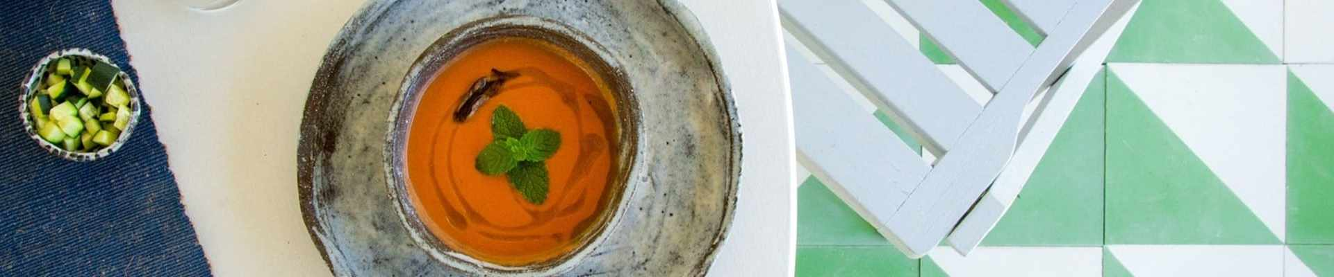 La receta del gazpacho con Thermomix - Glovo