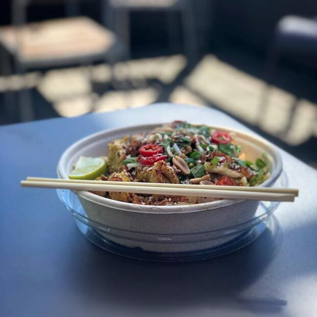 El Pad Thai es una comida para llevar