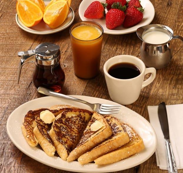 Pancakes y café, un buen desayuno a domicilio en Valencia