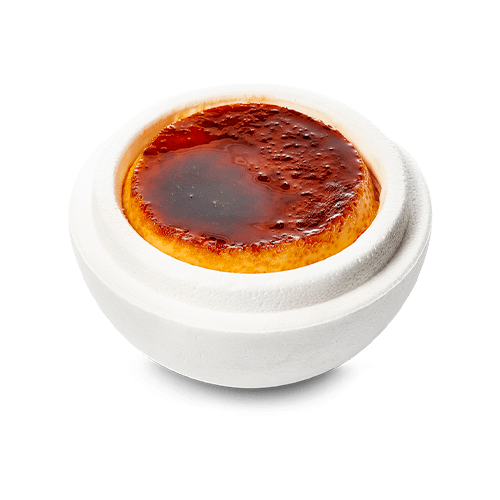 Helado de yogur y tocino del menú de la Gran Familia Mediterránea by Dani García Mercé