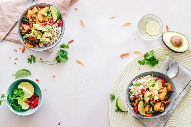 Ejemplos de comida healthy en Málaga