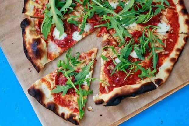 Pizza como ejemplo de comida para llevar en Pozuelo