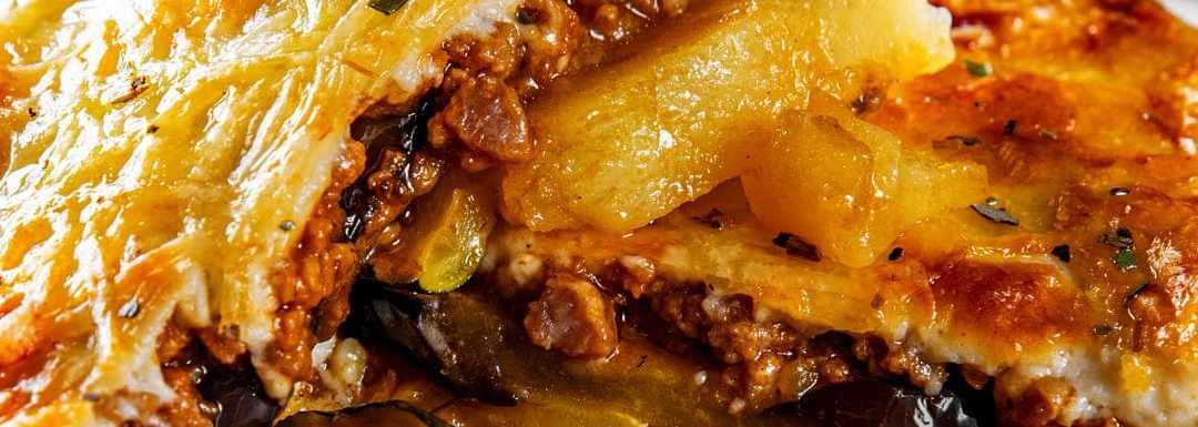 la receta de musaka que llevará las islas griegas a tu cocina - Glovo