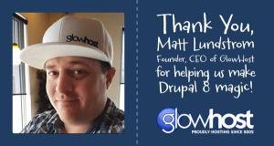 Drupal training sponsor - Matt Lundstrom & GlowHost