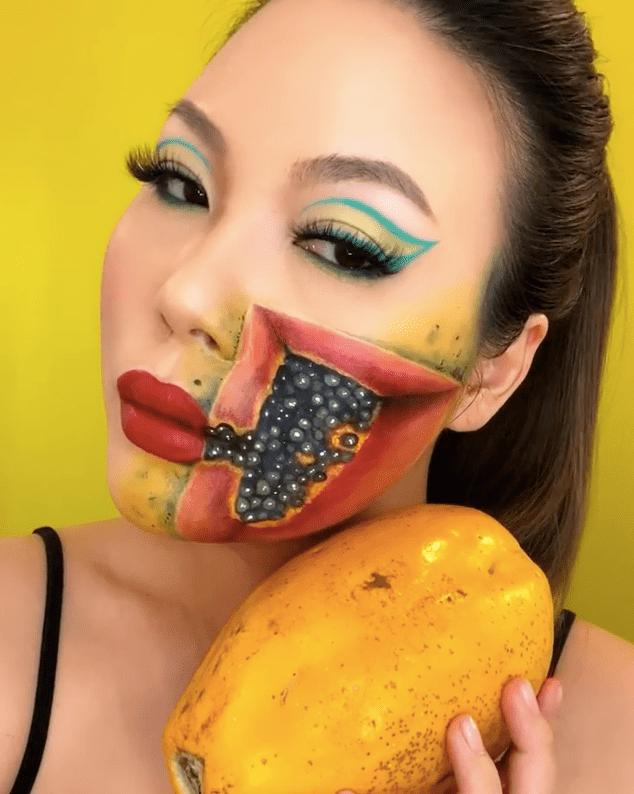 Mimi Choi papaya special effects makeup