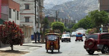 Straße in Lima