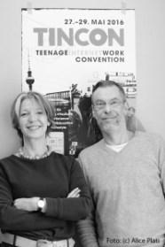 Johnny und Tanja Haeusler // Foto: Alice Plati // TINCON.org