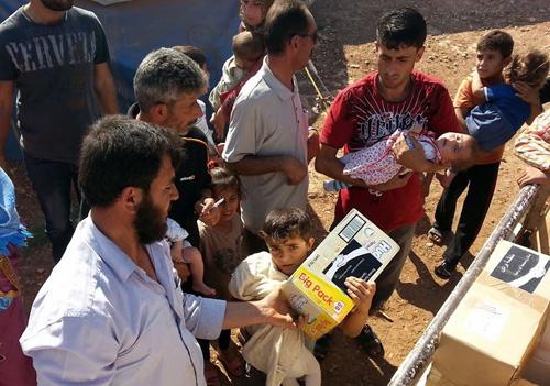 Spende für Barada Syrienhilfe