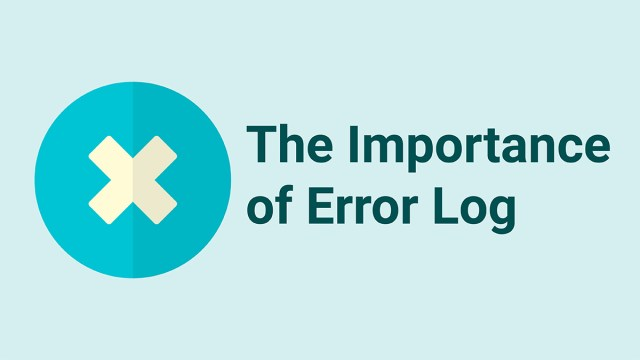 How to create an error log and why is it important in GMAT?